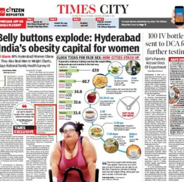 Hyderabad is India's obesity capital for women
