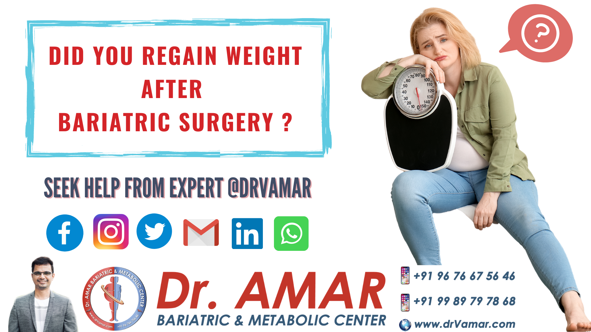 Did you regain weight after bariatric surgery?