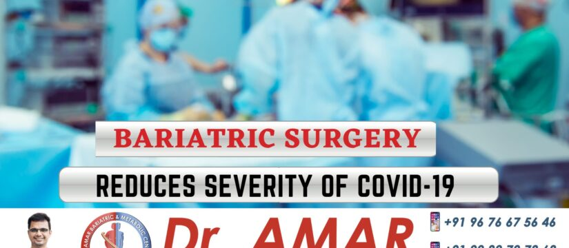 Bariatric Surgery reduces severity of Covid-19